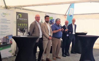 Inauguration officielle du nouveau service ferroviaire opéré par Novatrans-Greenmodal